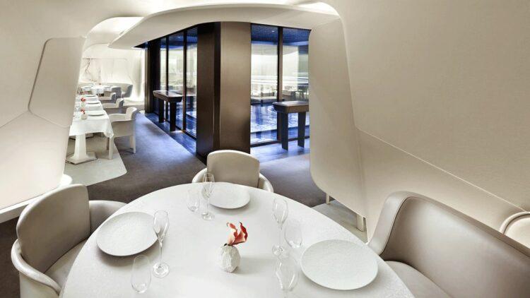 hotel in heaven mandarin oriental pairs dining room indoor culinary luxury creme