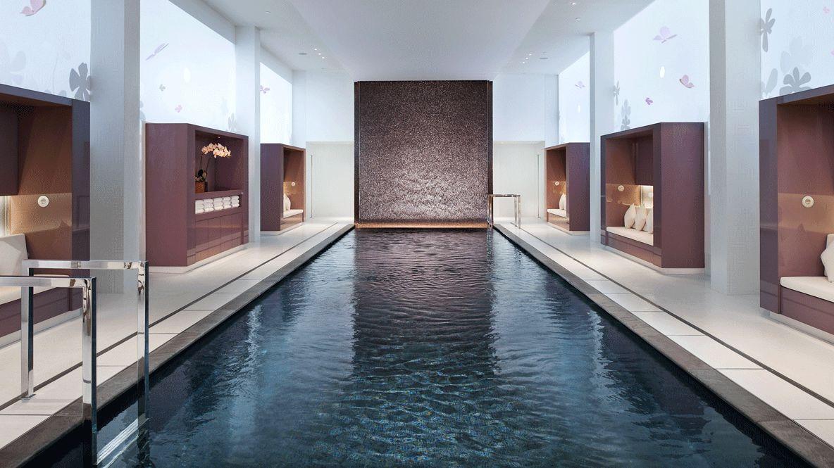 indoor pool-mandarin oriental paris