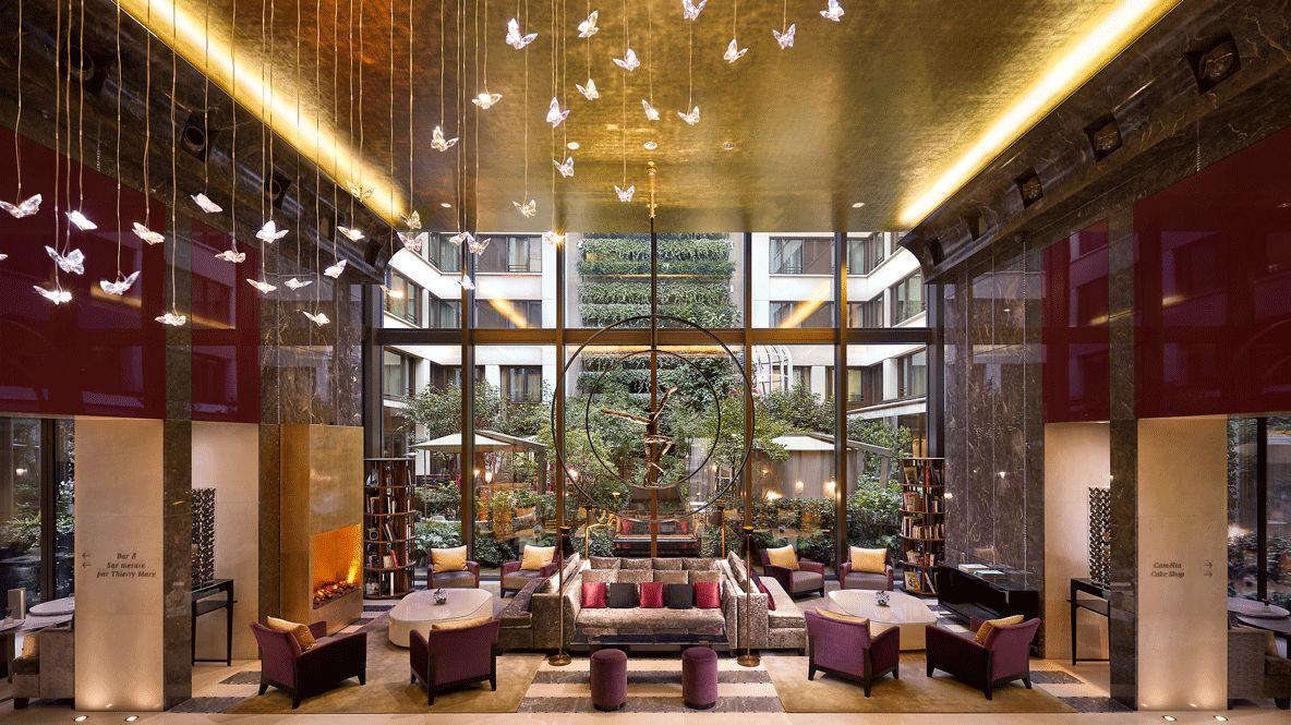entry reception hall-mandarin oriental paris