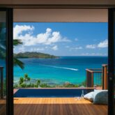 private infinity pool villa-raffles seychelles