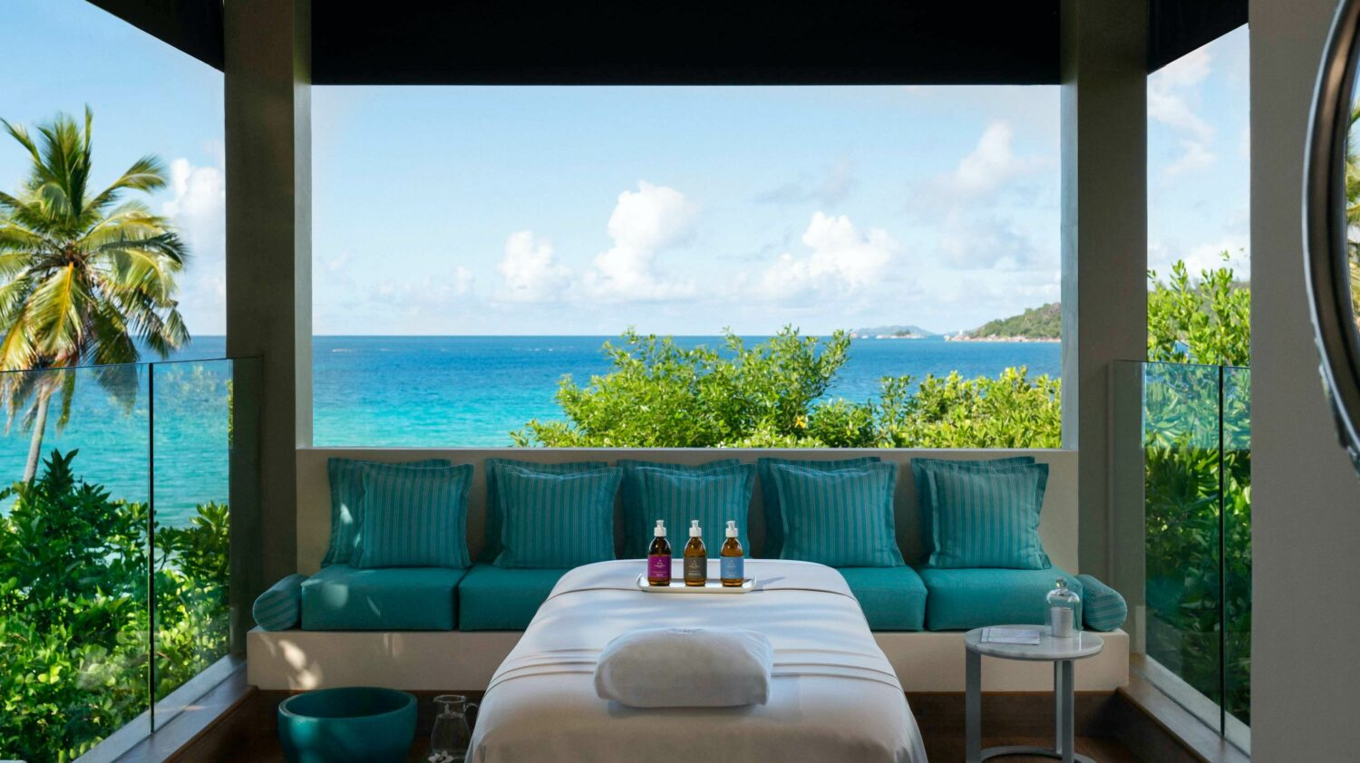 spa with a view-raffles seychelles
