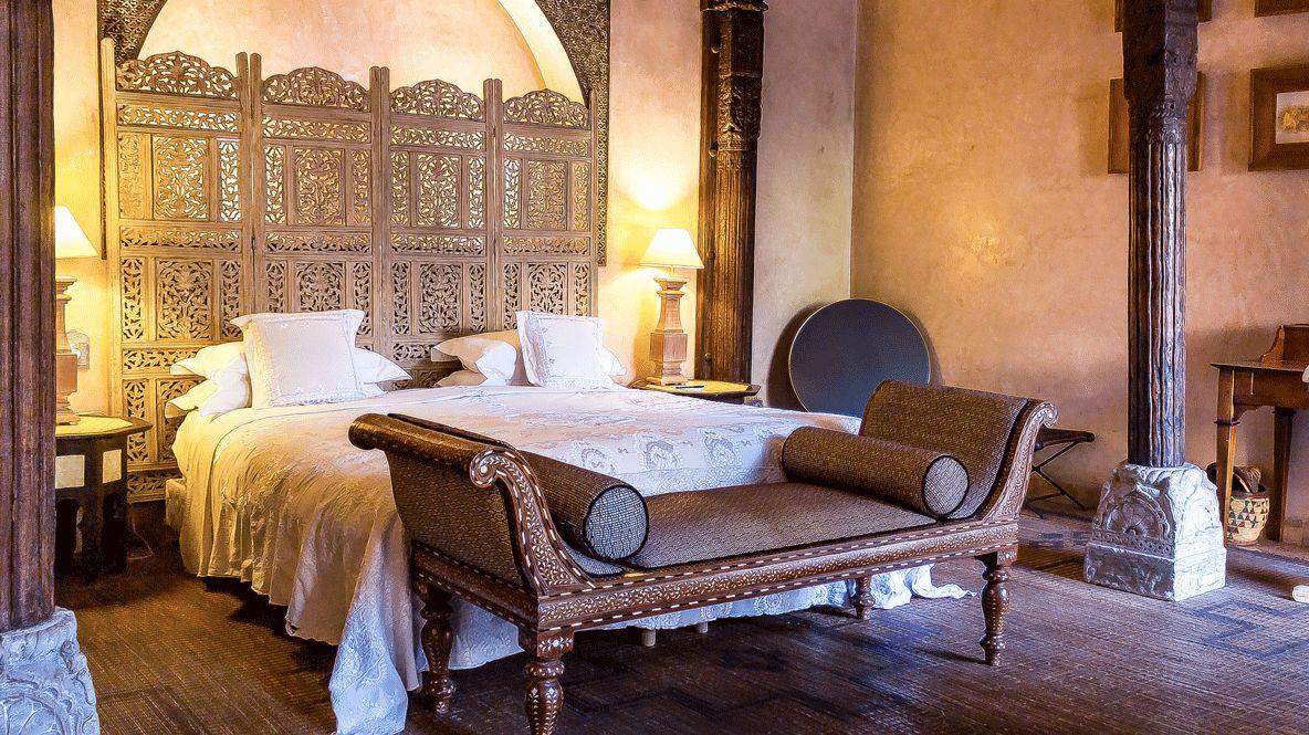 master suite-riad noir d'ivoire marrakech