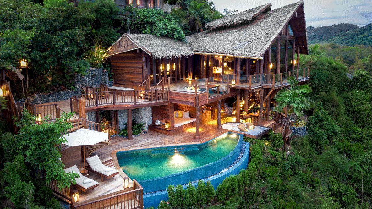 private villa with pool Six Senses Yao Noi