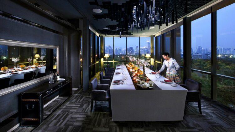 hotels in heaven sofitel bangkok culinary restaurant view food modern luxury
