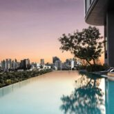 sunset view infinity pool-sofitel bangkok
