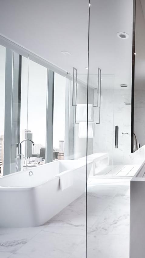 marble bathroom suite-sofitel bangkok