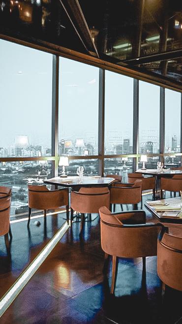 restaurant with a view-sofitel bangkok