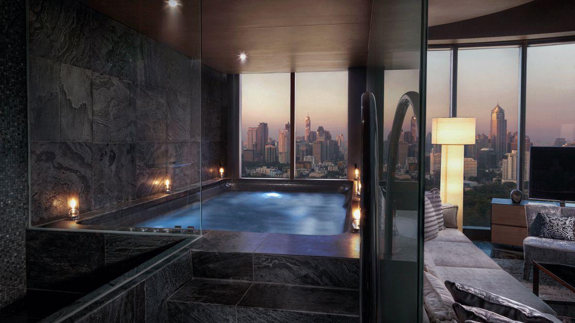 private suite pool thailand-sofitel bangkok