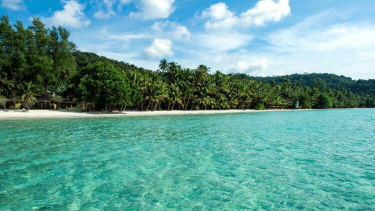 private beach-soneva kiri thailand
