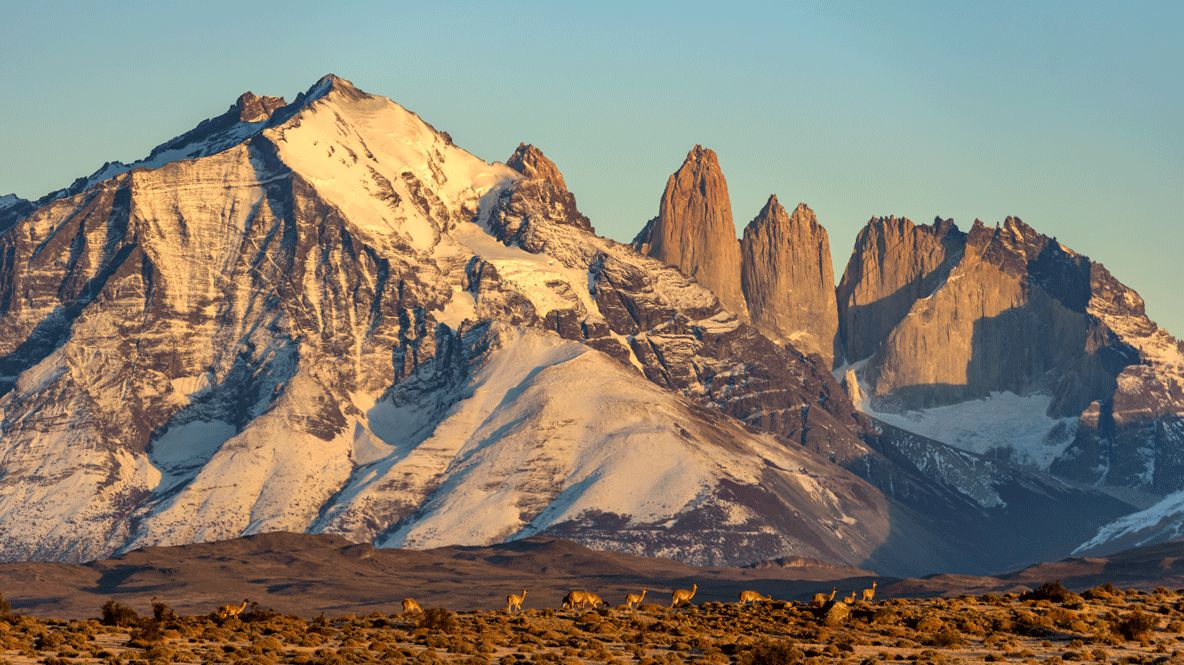 glacier chile-tierra patagonia chile