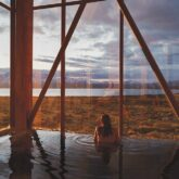 spa pool mountain view-tierra patagonia chile