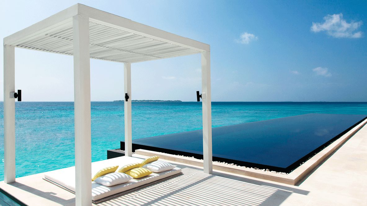 poolside cabana with infinity pool-cheval blanc randheli maldives