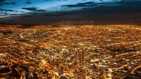 hotels in heaven alto atacama skyline night lights beautiful big city building tower ways amazing dark sky clouds