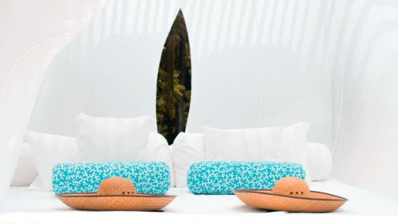 hotels in heaven viceroy riviera maya hat blue pillow bed white