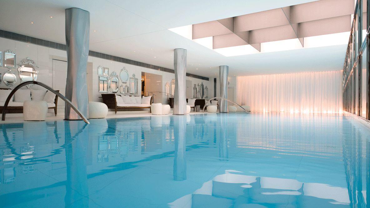 spa pool-le royal monceau raffles paris