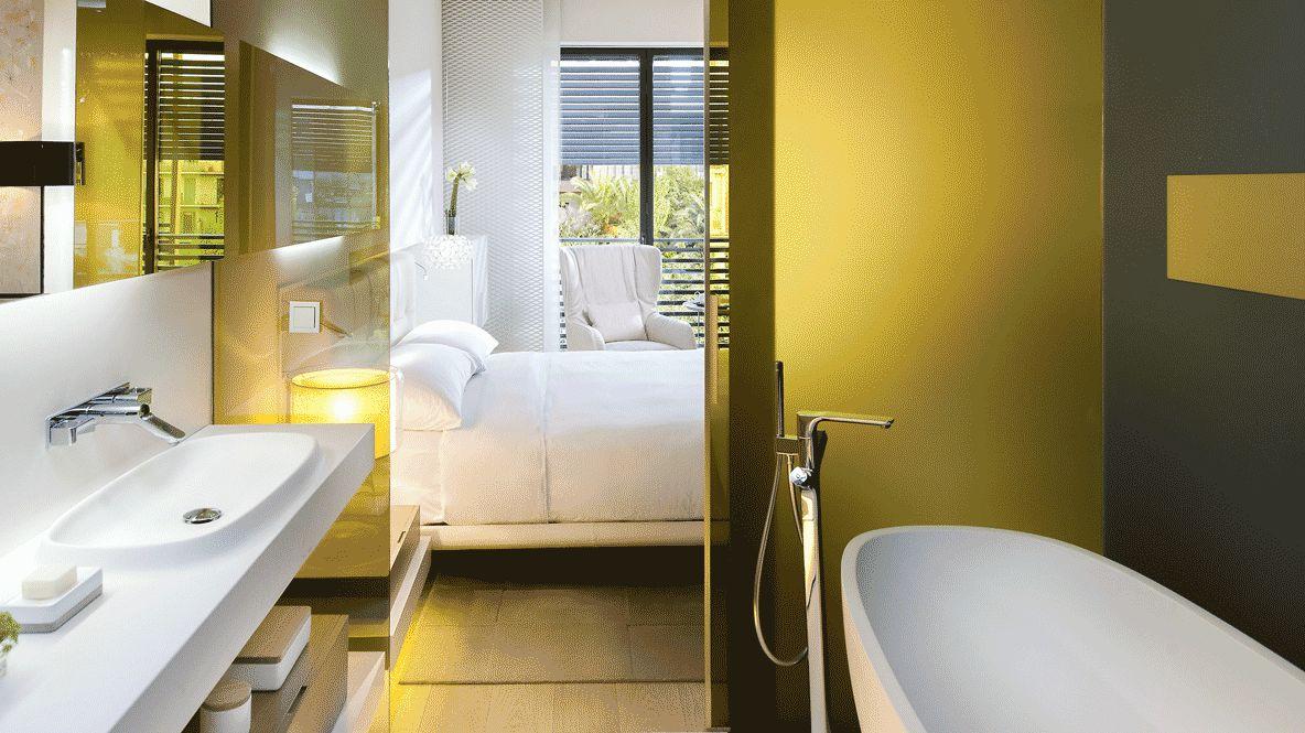 bathroom view-mandarin oriental barcelona