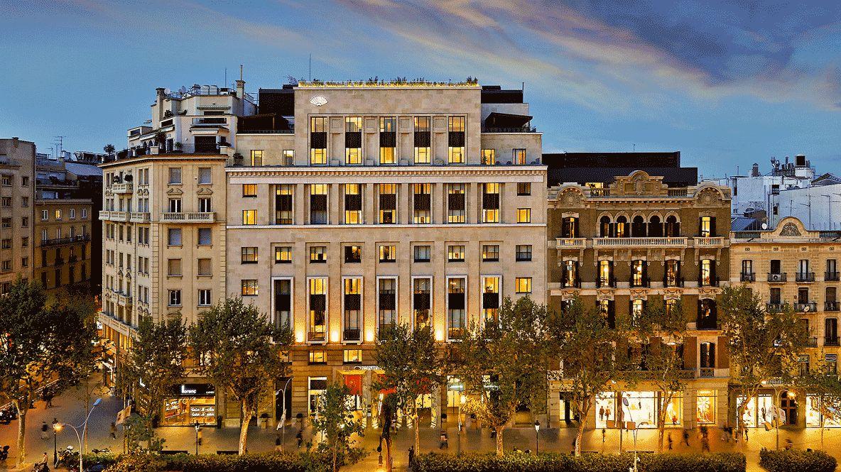 facade overview hotel-mandarin oriental barcelona