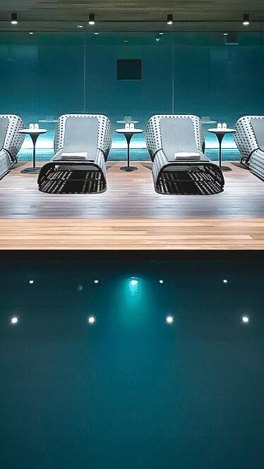 indoor spa pool-mandarin oriental barcelona