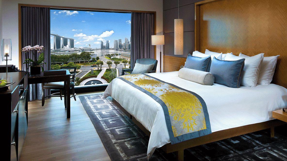 bedroom suite view-mandarin oriental singapore