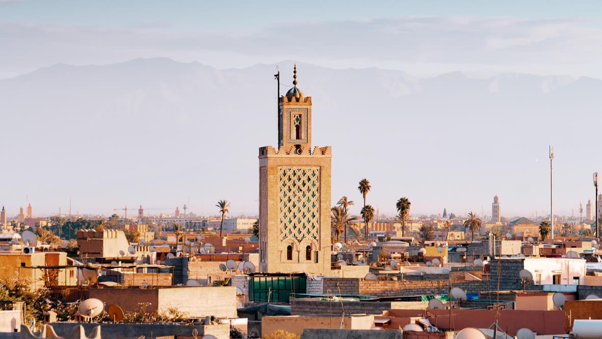 marrakech city-royal mansour marrakech