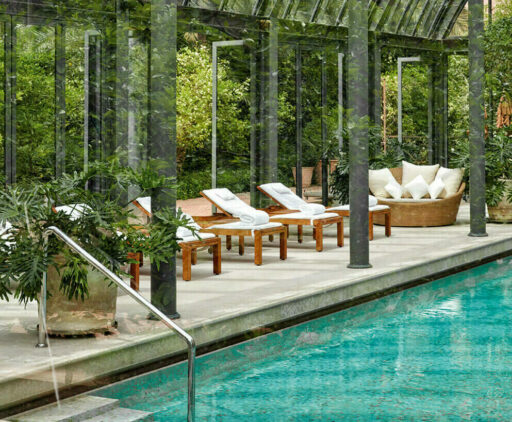 heated indoor pool-royal mansour marrakech