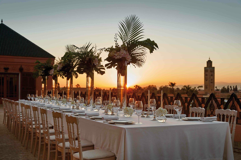 wedding venue-royal mansour marrakech