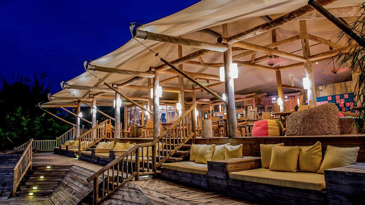 hotel bar lounge-soneva kiri thailand