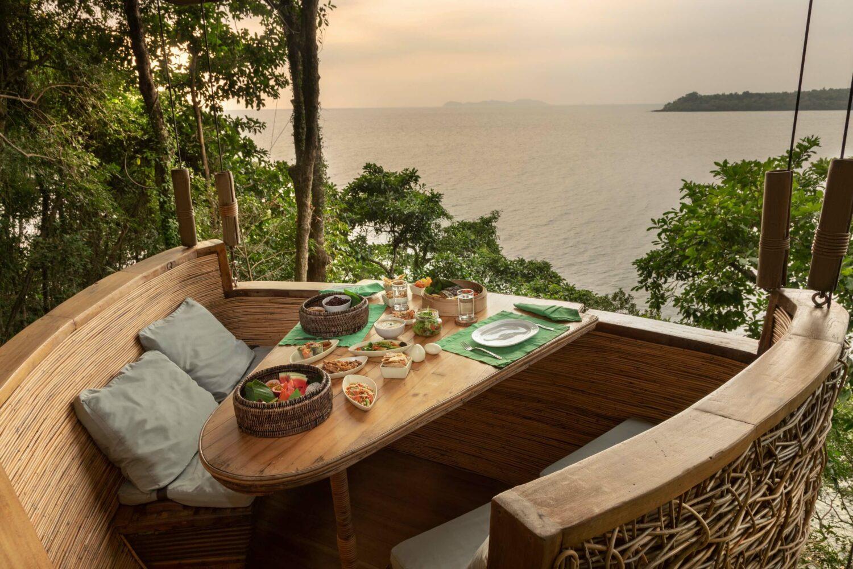 treepod fine dining-soneva kiri thailand