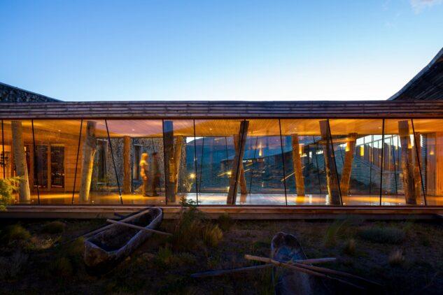 spa area-tierra patagonia chile