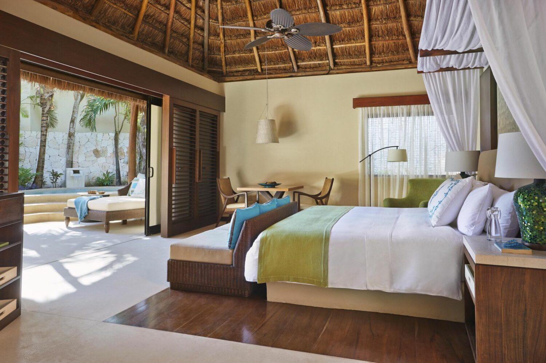 bedroom-viceroy riviera maya mexico