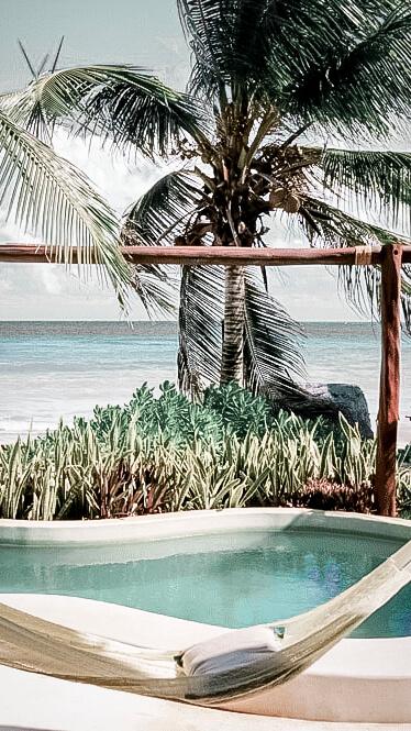 private pool ocean view-viceroy riviera maya mexico