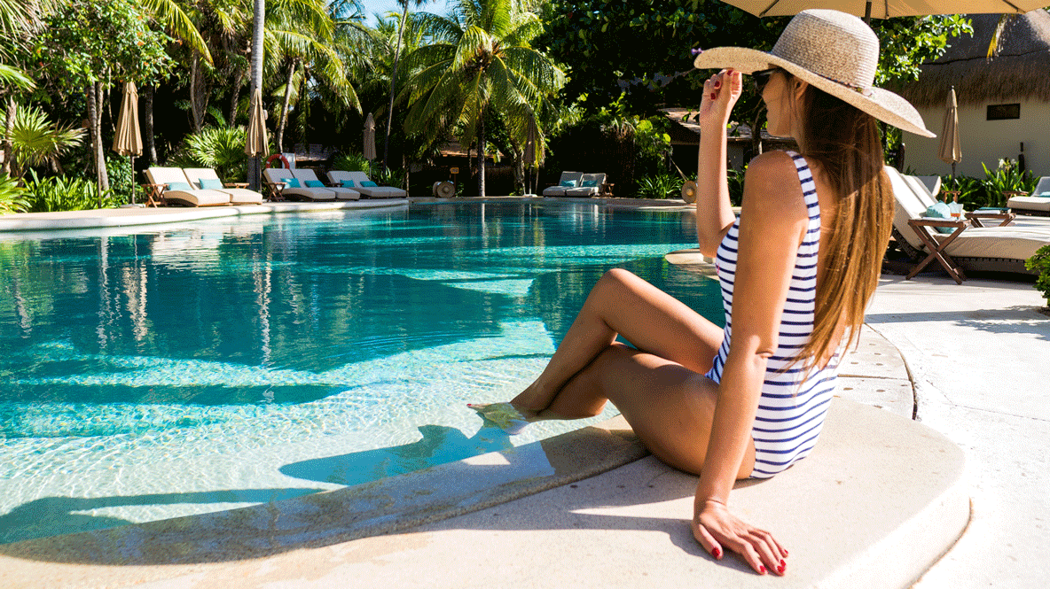 influencer pool-viceroy riviera maya mexico