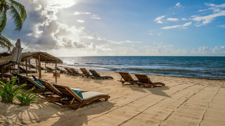 private beach hotel-viceroy riviera maya mexico
