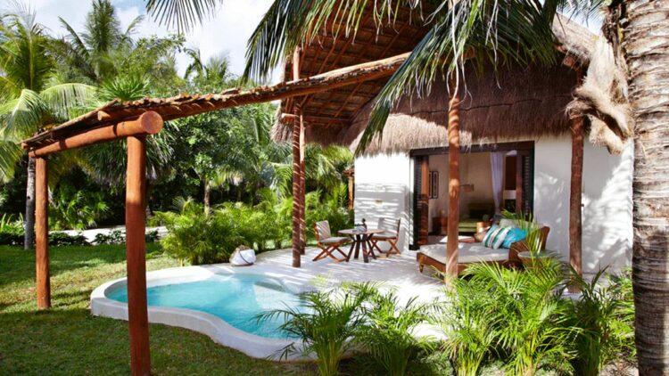 private villa with pool-viceroy riviera maya mexico