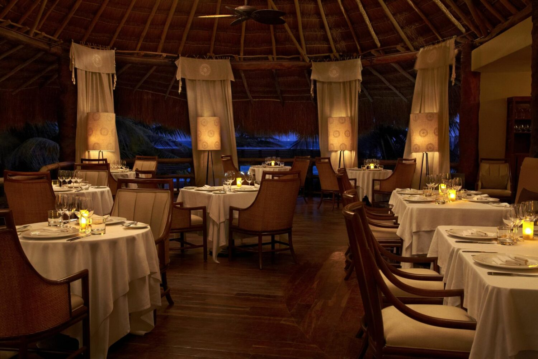 fine dining-viceroy riviera maya mexico