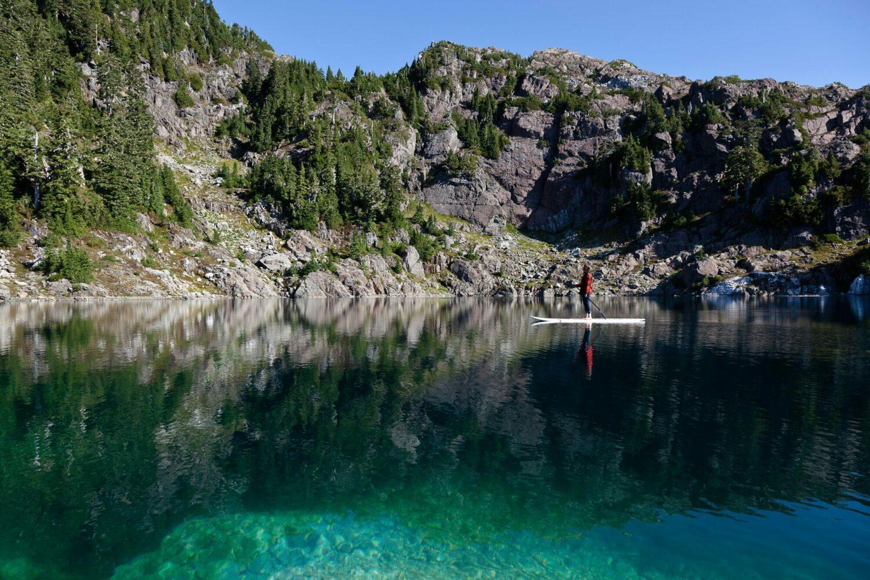SUP-clayoquot wilderness resort canada