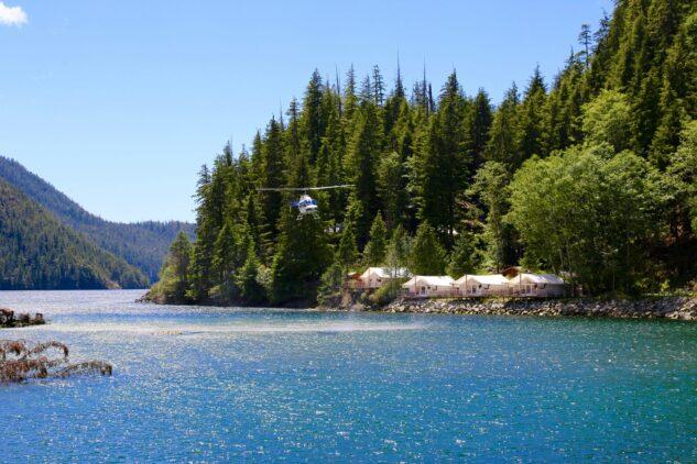 heli tour-clayoquot wilderness resort canada