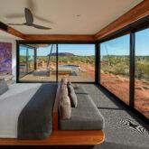 bedroom view-longitude 131° australia