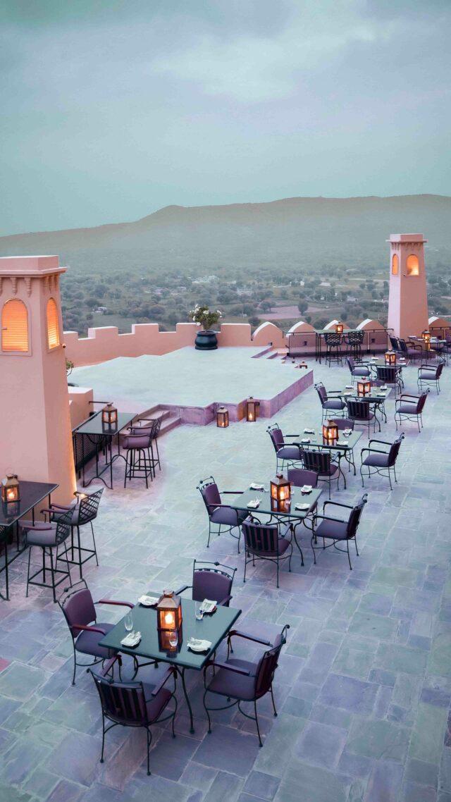 restaurant-alila fort bishangarh india
