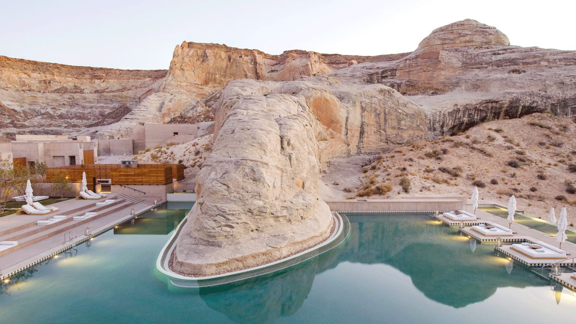 pool area-amangiri usa