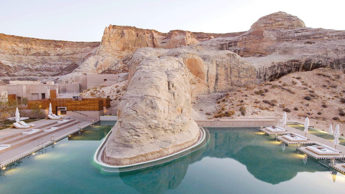 pool area-amangiri usa