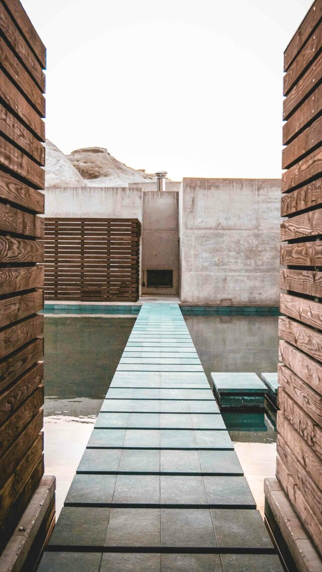 walkway pool-amangiri usa