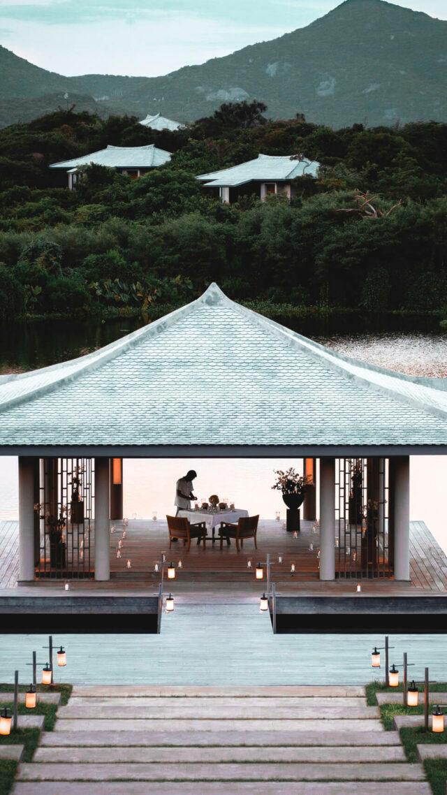 romantic restaurant-amanoi vietnam