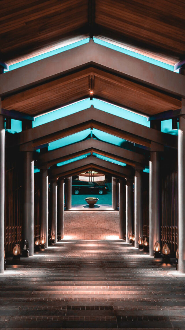 entrance hotel-amanoi vietnam