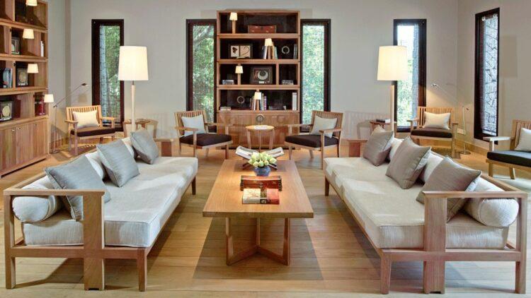 spacious livingroom-amanoi vietnam