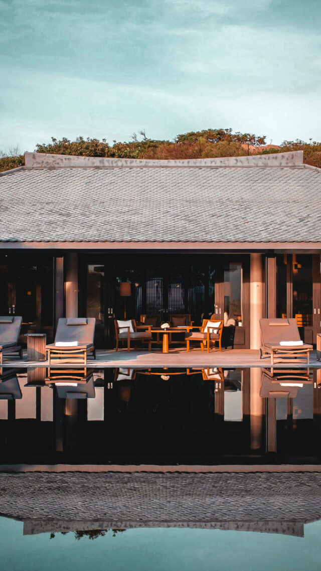 private villa with pool-amanoi vietnam