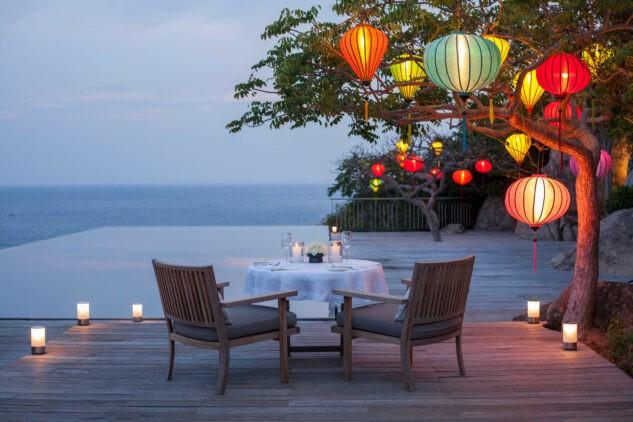 romantic private dinner-amanoi vietnam