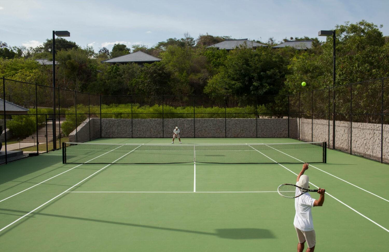 tennis court hotel-amanoi vietnam