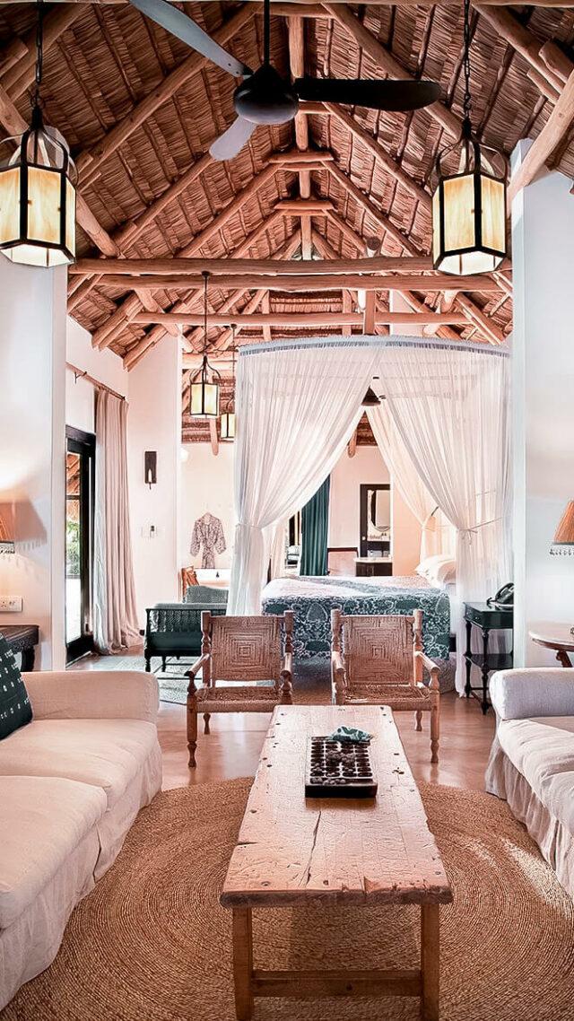 livingroom view-andbeyond benguerra island mozambique