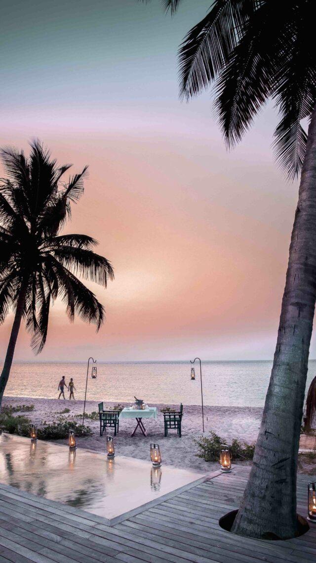 dinner location beach-andbeyond benguerra island mozambique